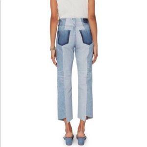 AG Phoebe Vtg. High Waist Two Tone Jeans